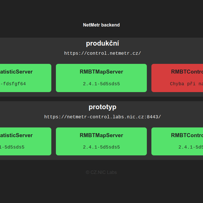 test_build (#335) · Jobs · websites / netmetr-status · GitLab
